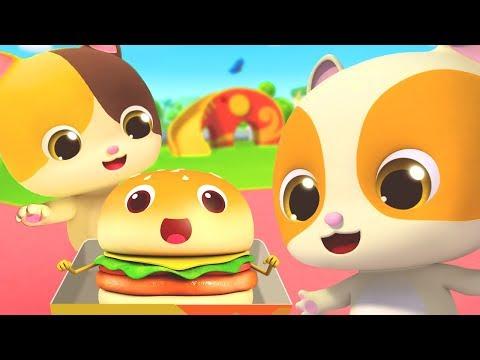Yummy Fast Food Truck   Breakfast Song, Ice Cream   Nursery Rhymes   Kids Songs   Baby Song  BabyBus