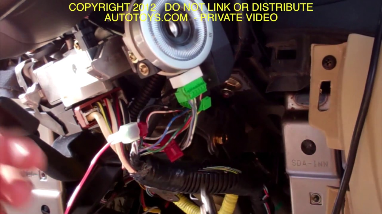 Acura Tl Remote Start Installation Uncut Video