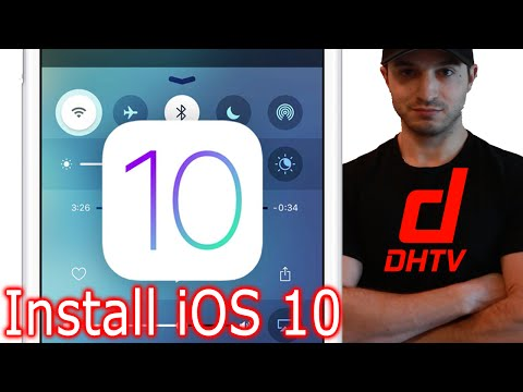 How To install iOS 10 Now iPhone or iPad