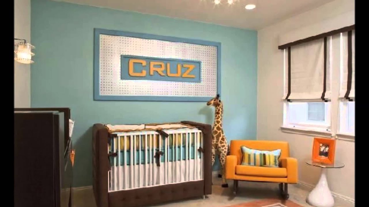 Kumpulan Desain Kamar Bayi Terbaru - YouTube