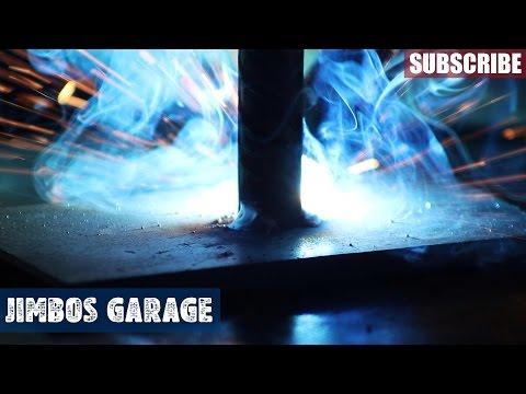 Rebar Welding Project - Jimbos Garage
