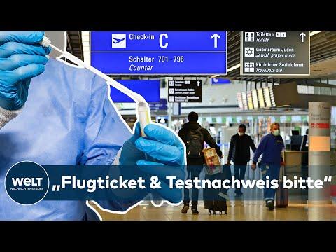 STRENGE VORGABEN: TESTPFLICHT bei Flug-Einreisen ab Sonntag