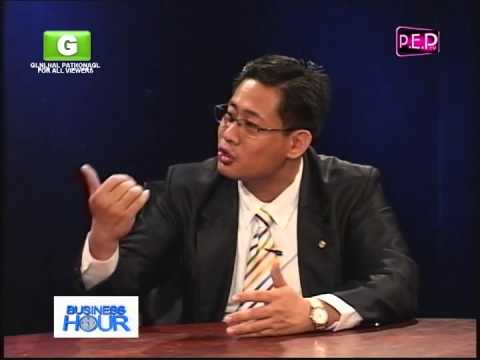 Mr. Alfred Reyes General Manager Widus Hotel and Casino PEP TV Interview ( Part 1 )