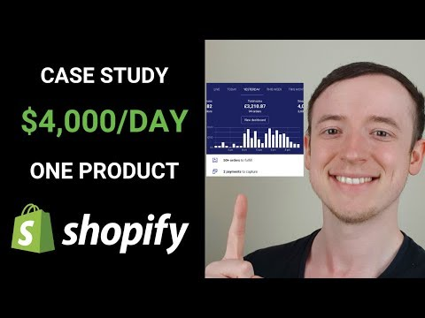 Dropshipping Case Study | $4,000/Day with One Product in Two Weeks thumbnail