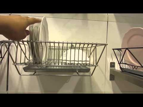 Comprar en china importar de china escurreplatos y vasos - Escurreplatos para muebles de cocina ...