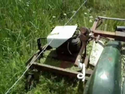 Tondeuse sur quad pour faucher sous les cl tures for Sous compteur electrique pour garage