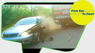 Car Crash) very Shock dash camera 2018 NEW By Top Speed Motor HD (1208) HD