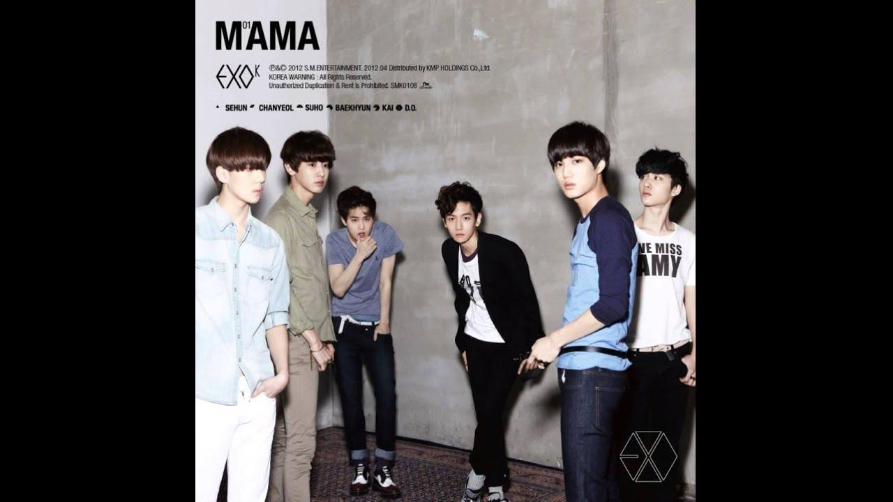 Imagini pentru exo mama album cover