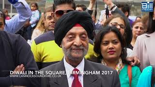 Diwali in the Square, Birmingham City Centre 2017