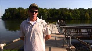 Making Fishing Better at Stewart Creek Boat Ramp on J Percy Priest Lake 9-6-2013