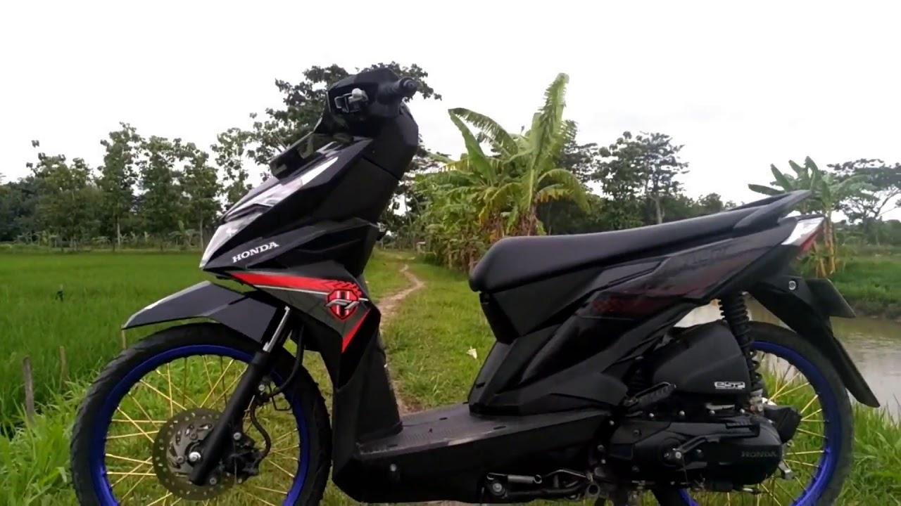 Motor Modifikasi Honda Beat Esp 2017 Yang Dimodel Ala Thailok YouTube