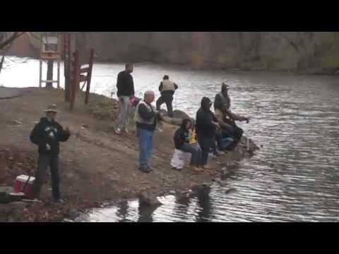 Open Fishing Season-Speedwell Lake
