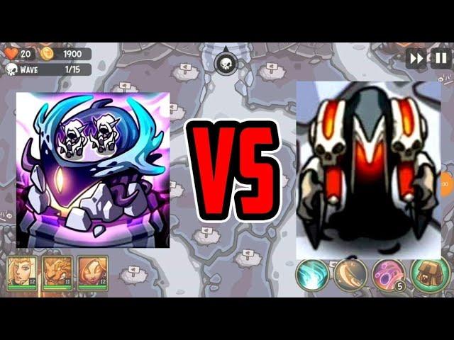Hunters VS Narazal - New tower test - Empire Warriors TD