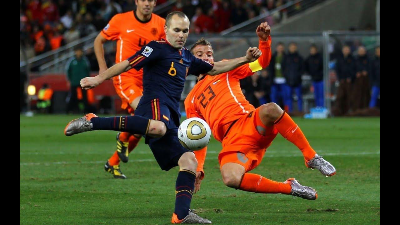 Andres Iniesta ○ Spain ○ Best Goals & Dribbling Skills Ever