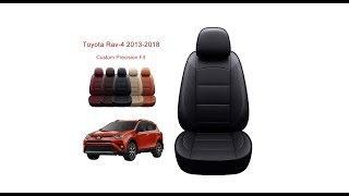 Oasis Auto Toyota RAV4 seat cover installation-Custom Fit