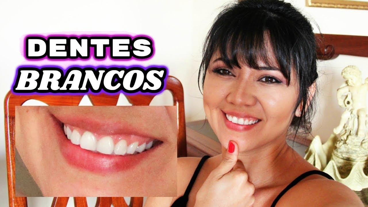 Dentes Brancos Em Poucos Minutos Receita Caseira 10m Youtube