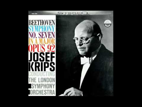 Beethoven - Symphony No. 7 - LSO - Josef Krips 448 Hz