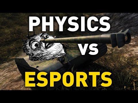 Physics vs eSports in World of Tanks