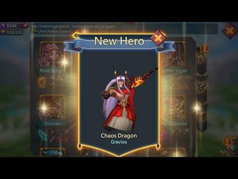 Lord Mobile Chaos Dragon Hero Unlocked