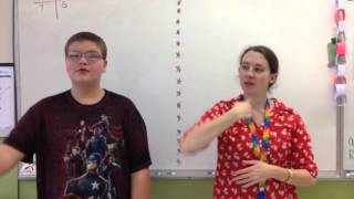 Taft 7-12 Cover The World With Love in ASL