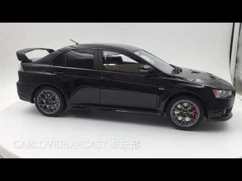 Kyosho 1:18 Mitsubishi Lancer Evolution Final Edition black (KSR18019Bk)