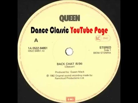 Queen - Back Chat (12'' Mix)