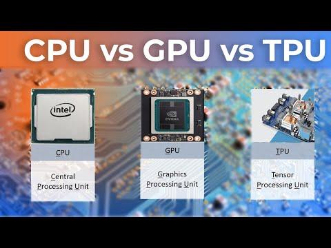 3  CPU vs GPU vs TPU