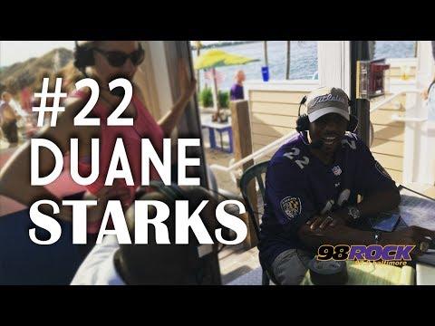 Former Raven Duane Starks