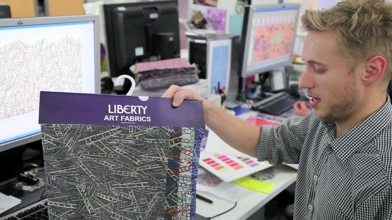 New season fabrics meet the liberty design team youtube for Digital blueprint maker