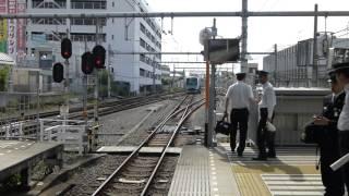 西武Strain(有料座席指定列車)at 飯能駅発車状況