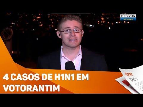 H1N1 em Votorantim - TV SOROCABA/SBT