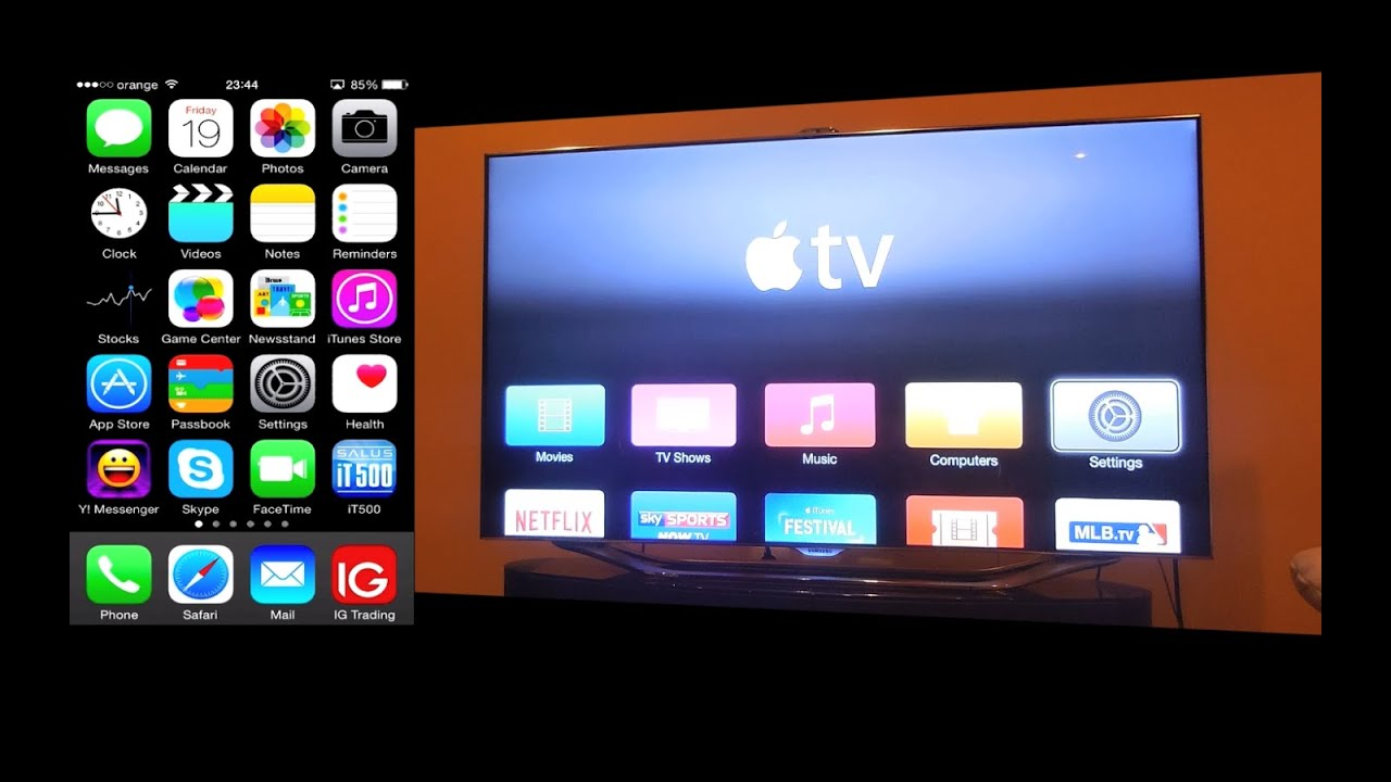 control apple tv with iphone how to use your iphone as an apple tv remote 16825