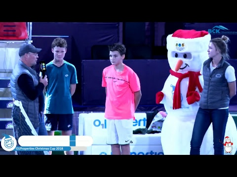 O1Properties Christmas Cup 2018 Centre Court 30.12.2017