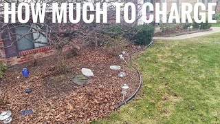 How Much Should I Charge for SMALL Landscaping Jobs