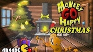 Monkey Go Happy Christmas - Walkthrough HD