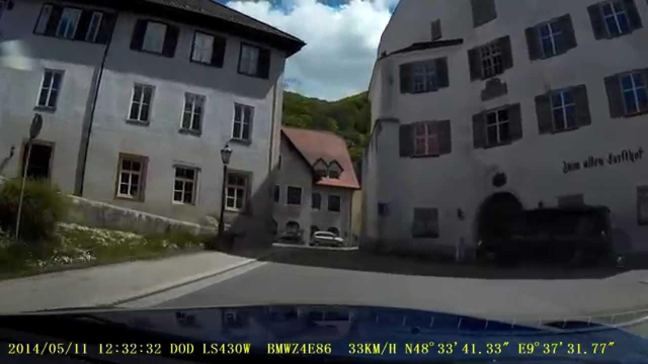 Wiesensteig, BMW Z4 E86