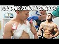Taking A Subscriber Through a Full Gyno Removal Surgery!!