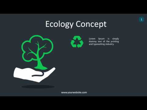 Energy Concept Infographic - Animated PowerPoint Template - YouTube