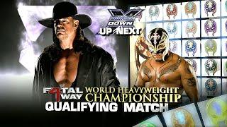 The Undertaker vs Rey Mysterio 1 Contendership Qualifying Match 5/28/10 (1/2)