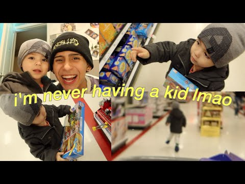 I Took My 2 Year Old Brother Toy Shopping *INTENSE