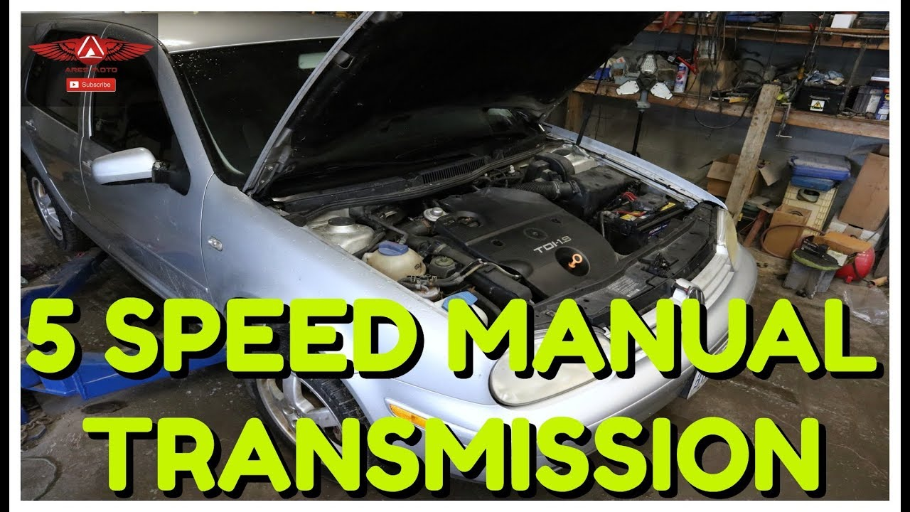 VW Golf TDI MK4 Complete Transmission Removal