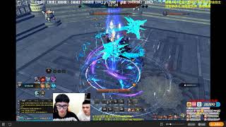 Blade and soul pvp: Warrior vs Top WL, Des (Test pvp skills with Top player)