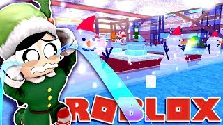 NUUU My Beautiful Tycoon!!!! - Roblox Winter Wonderland Tycoon - DOLLASTIC PLAYS!