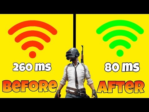 Fix High Ping Problem ||How To Reduce Ping In Pubg Mobile
