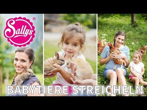 Baby-Tiere streicheln / Besuch beim Arlitscherhof / INTERSPAR / Sallys Welt