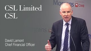 Gambar cover CSL Limited: David Lamont, Chief Financial Officer