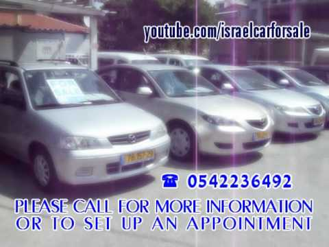 Used Cars For Sale In Israel, Rehovot Migrash 1 Tel 0542236492