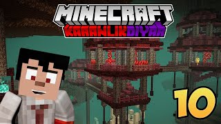 BASE ÇALIŞMALARI   Bölüm 10   Minecraft Survival   KARANLIK DİYAR