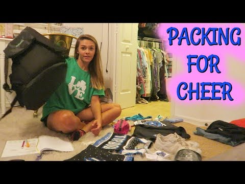 Download Youtube: PACKING FOR MY CHEER COMPETITION! INTENSE BASKETBALL GAME!