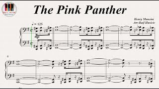 Video The Pink Panther, Piano PDF download MP3, 3GP, MP4, WEBM, AVI, FLV September 2018